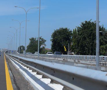 Jual PJU Tiang Penerangan Jalan Galvanis Ukuran Custom Surabaya