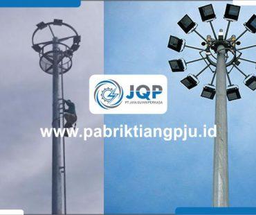 Jual Tiang Lampu High Mast 15M, Manual Gorontalo