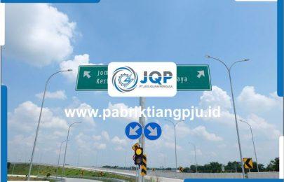 Jual Tiang Rambu Petunjuk Jalan Tol Murah